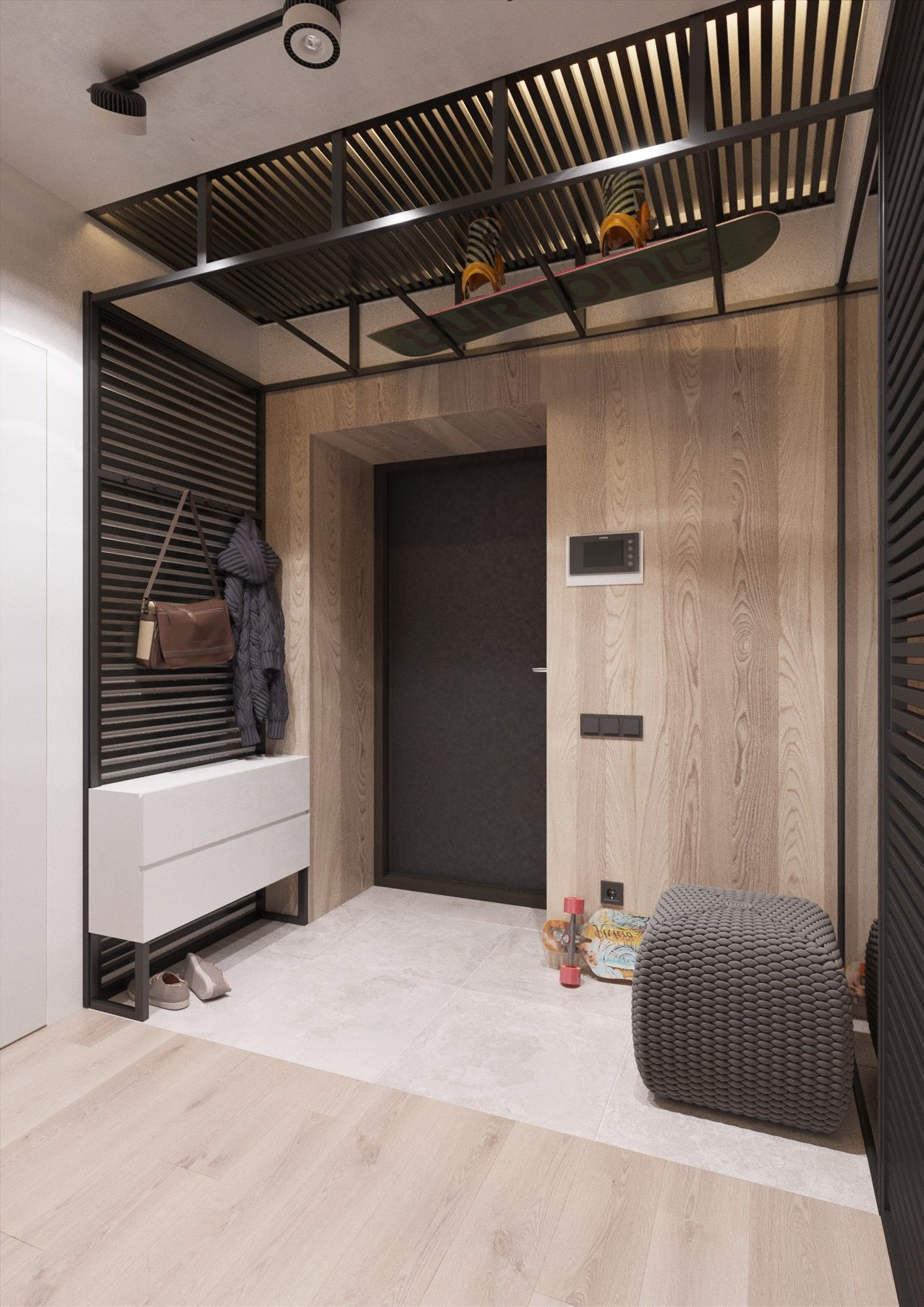 Entry hallway furniture  Pin by duru on Holuri  Pinterest  Hall Interiors and Apartments