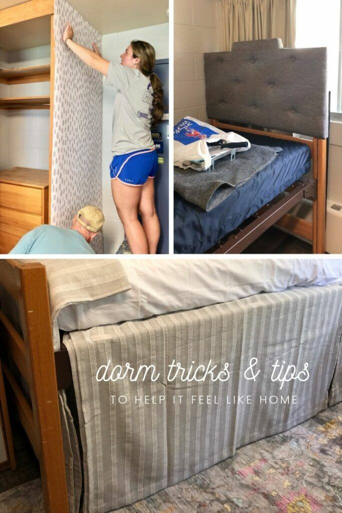 DORM Tricks & Tips to make it FEEL LIKE HOME!