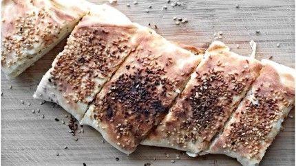 فطيرة جبن الحلوم Recipe Yummy Food Arabic Food Food