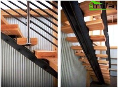 escaleras metlicas ejemplos del diseo y la tecnologa de la instalacin