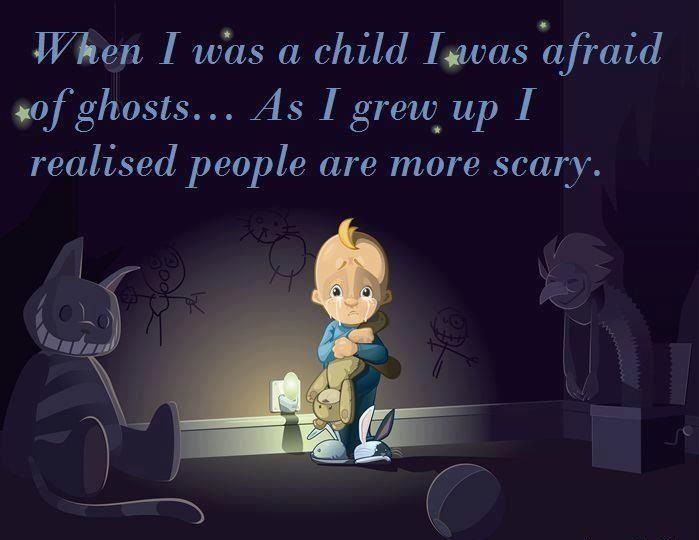 people Its  :-( Why ghost? so cruel do