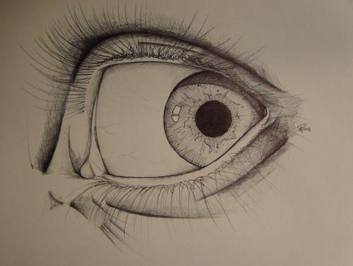 eye with emotion