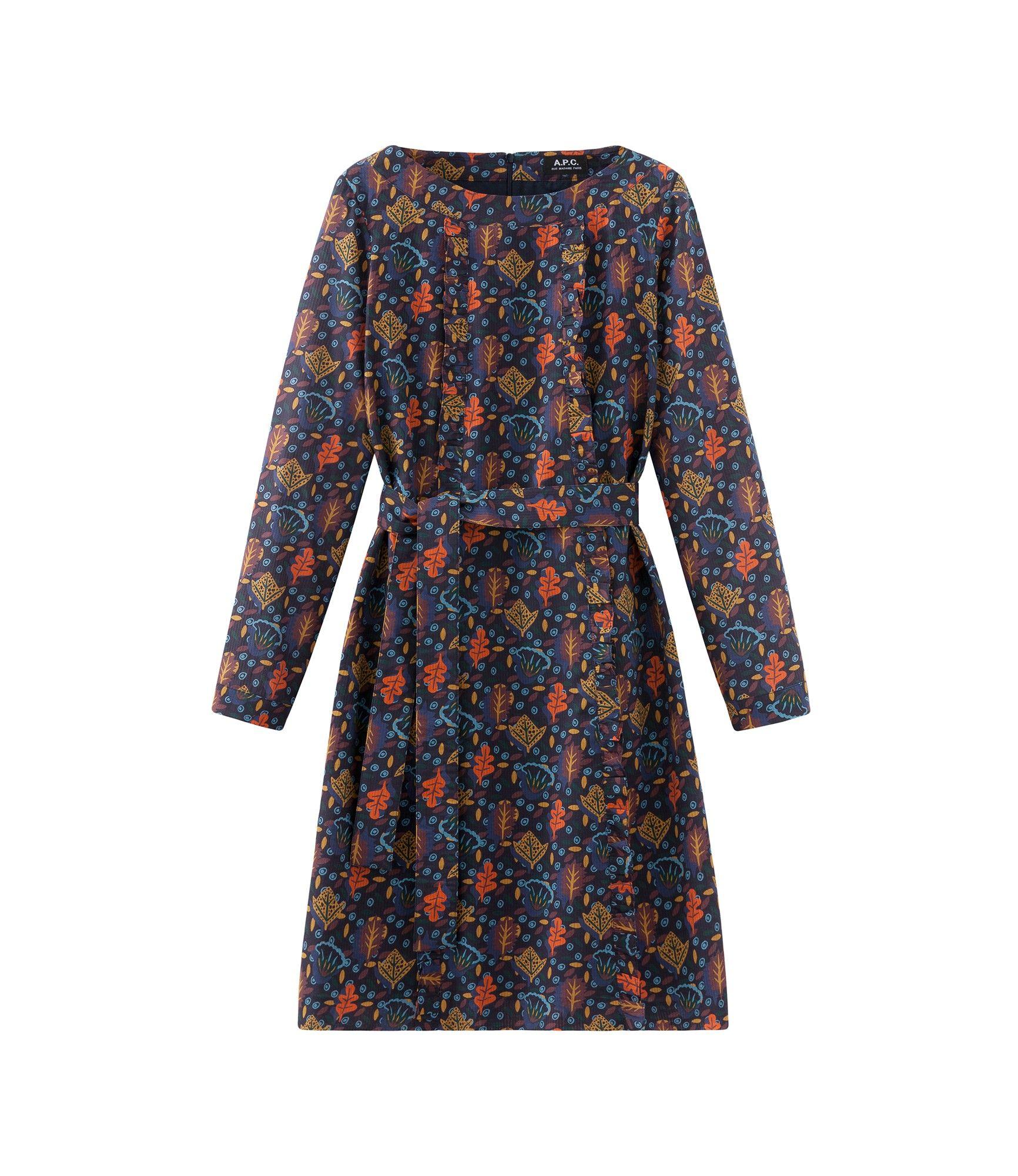 Kleid Maja - Mehrfarbig - Kleid - Prêt-à-porter A.P.C ...
