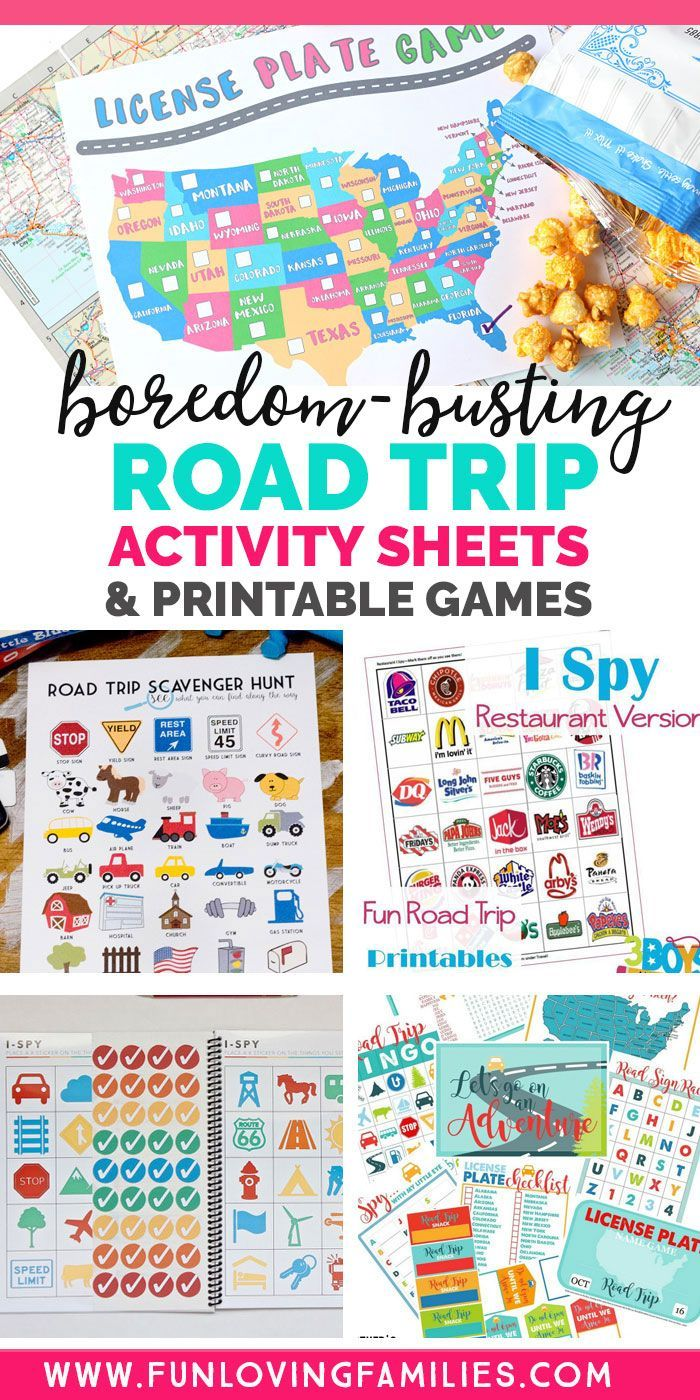 25 Fun Road Trip Games for Kids and Families - Fun Loving Families