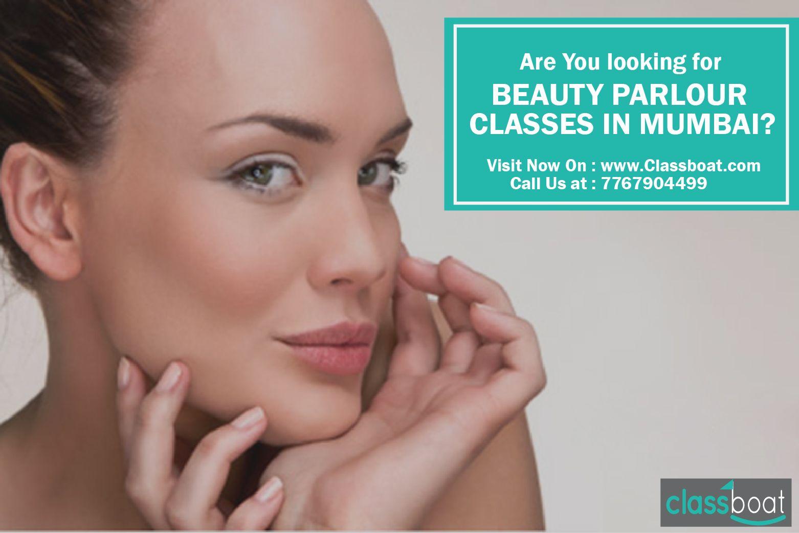 ClassBoat provides list of beauty parlour classes in