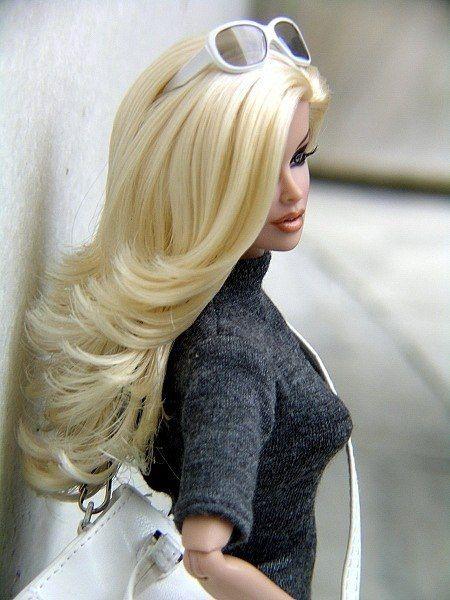 Doll Barbie Fashion Blond Hair Fashion Dolls Barbie Dolls Barbie