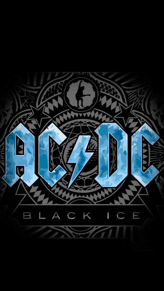 Acdc Iphone 5s Wallpaper En 2019 Logos De Bandas