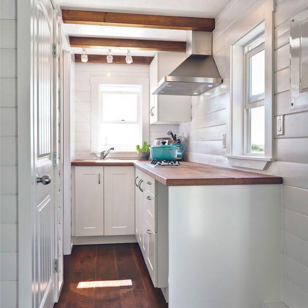 Tiny House: Ein Mini Haus, Küche