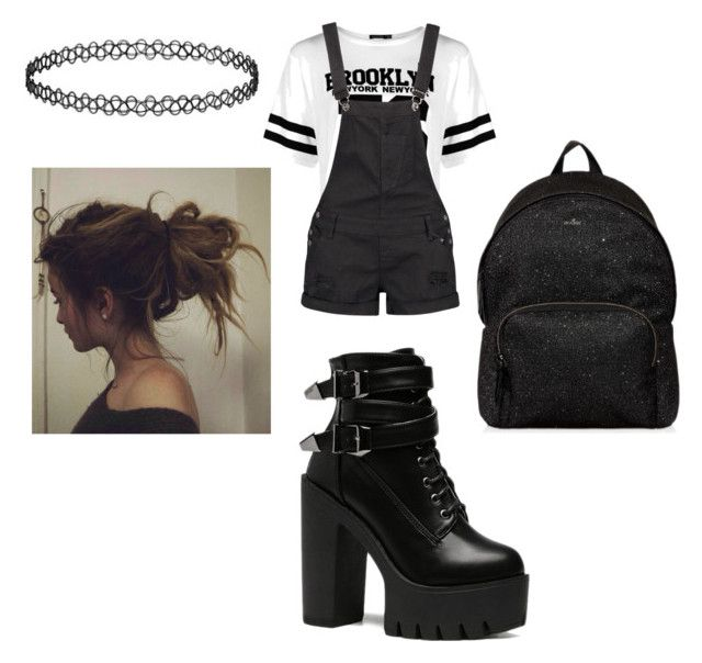 """""""Untitled #9044"""" by lover5sos ❤ liked on Polyvore featuring Boohoo and Hogan"""
