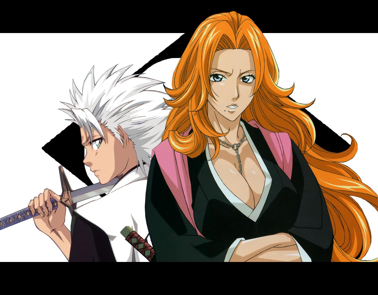 Bleach - Toshiro & Rangiku
