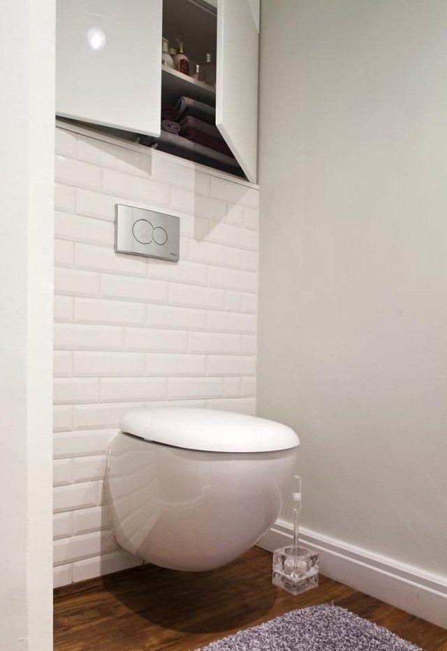 Carrelage salle de bain imitation bois u2013 34 idées modernes Toilet - photo faience salle de bain