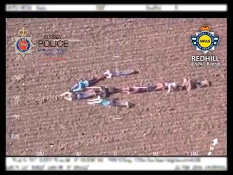 Easter egg-hunting children form human arrow to help direct police towards two suspected burglars | Crime | News | The Independent