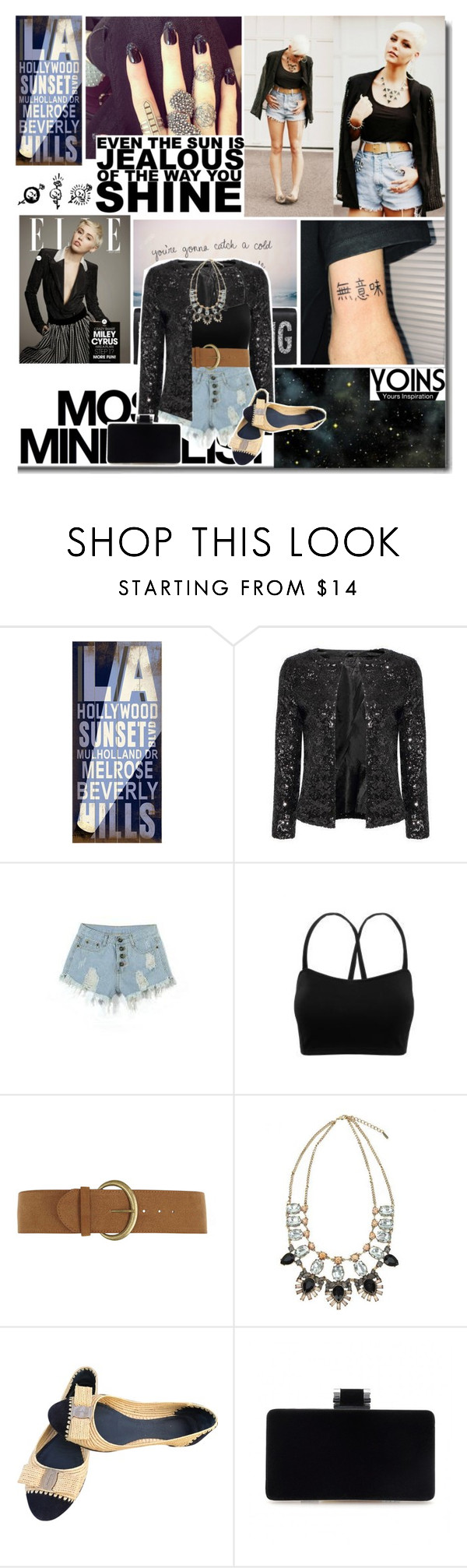 """""""Untitled #252"""" by daizydarling ❤ liked on Polyvore featuring ArteHouse, Cyrus, Serfontaine, Dorothy Perkins and Salvatore Ferragamo"""