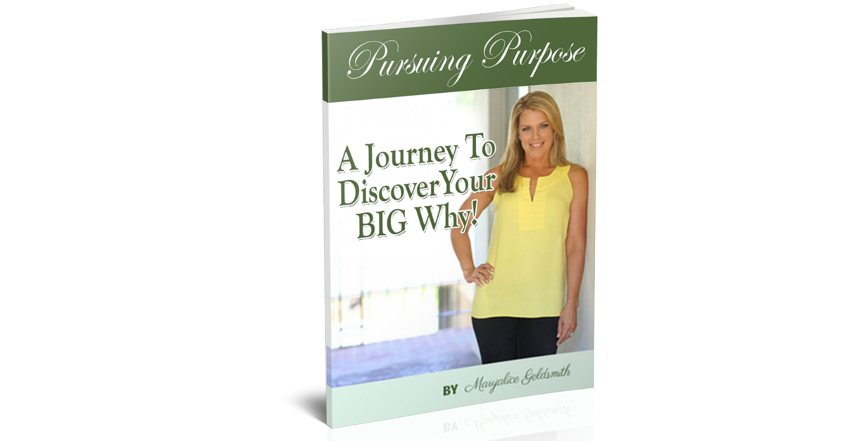 Join me and my 8-Week Pursuing Purpose ~ discover your BIG WHY and live your best life from the InsideOut! https://insideoutwellnessvip.leadpages.net/live-life-with-purpose/