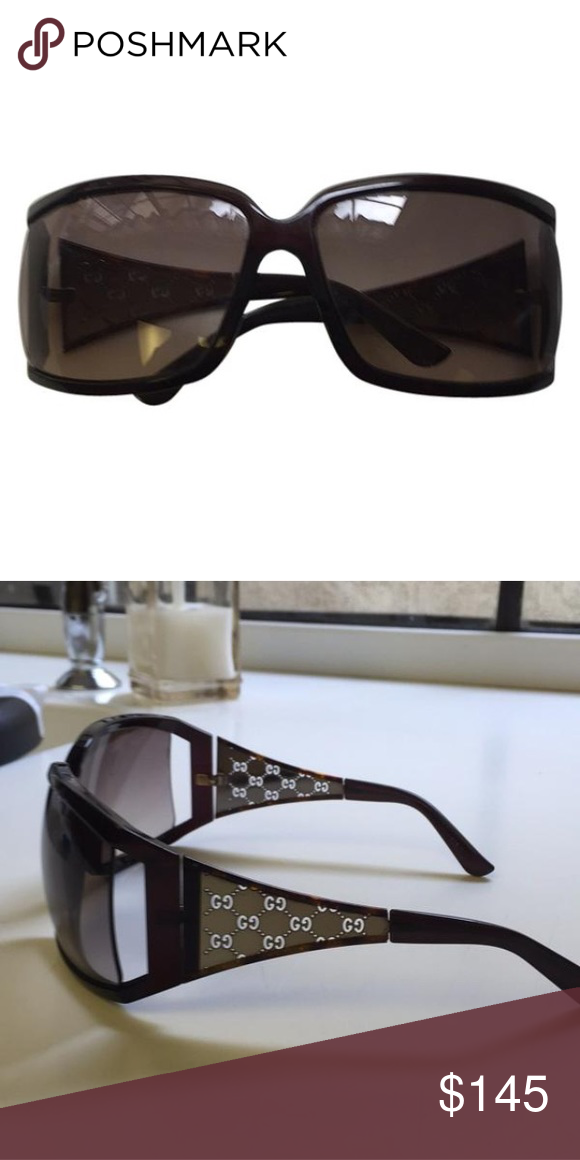 74aaf3d57db Ladies Gucci Sunglasses Tortoise genuine Gucci sunglasses. There is some  wear on them but in