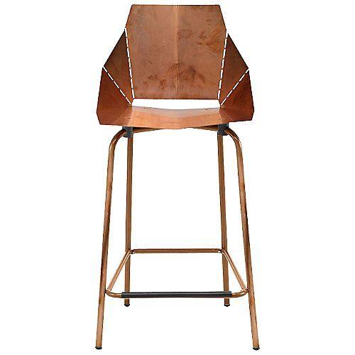 Copper Real Good Counterstool By Blu Dot At Lumens Com Cool Bar Stools Modern Bar Stools Counter Stools