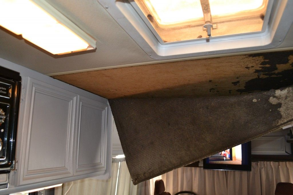 How To Remove The Ugly Rv Ceiling And Replace Without