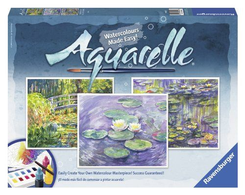 Ravensburger Aquarelle Monet Arts And Crafts Kit Ravensburger