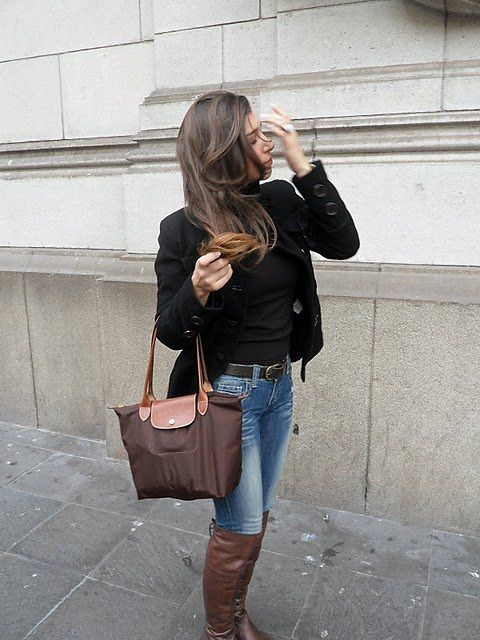 longchamp le pliage outfit - Google Search   Love These Handbags ... 5061fc23eb