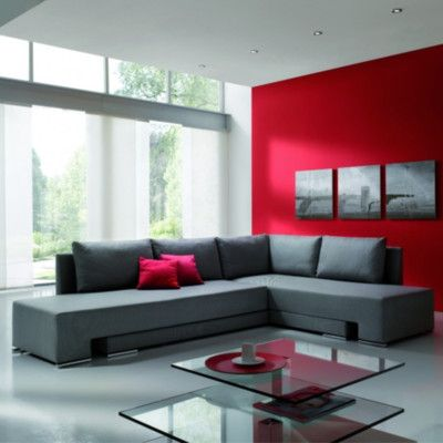 The Collection German Furniture Vento Sleeper Sectional