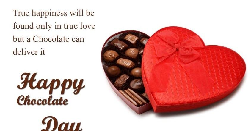 Happy Chocolate Day Wishes For Friends Happy Chocolate Day Wishes