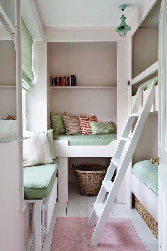 BUNK BEDS | Camere con brande, Design camera da letto ...