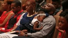 youtube michael brown funeral - Google Search