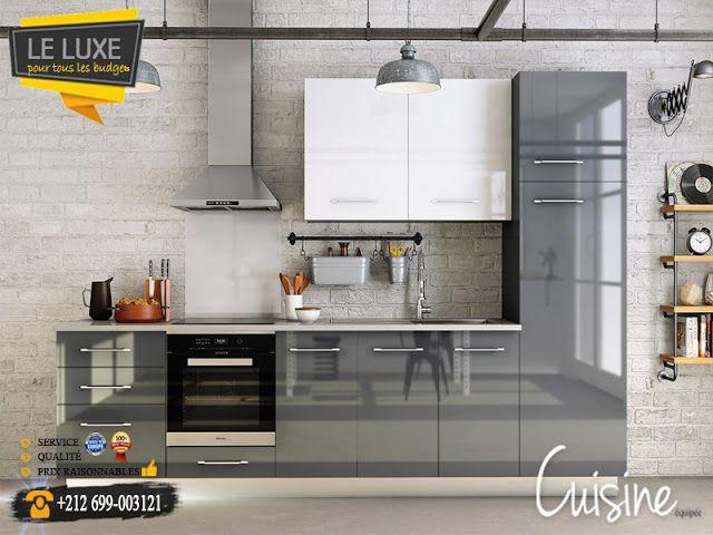 Cuisine équipée design et moderne ou sur mesure Rabat, Maroc - Hauteur Plan De Travail Cuisine Ikea