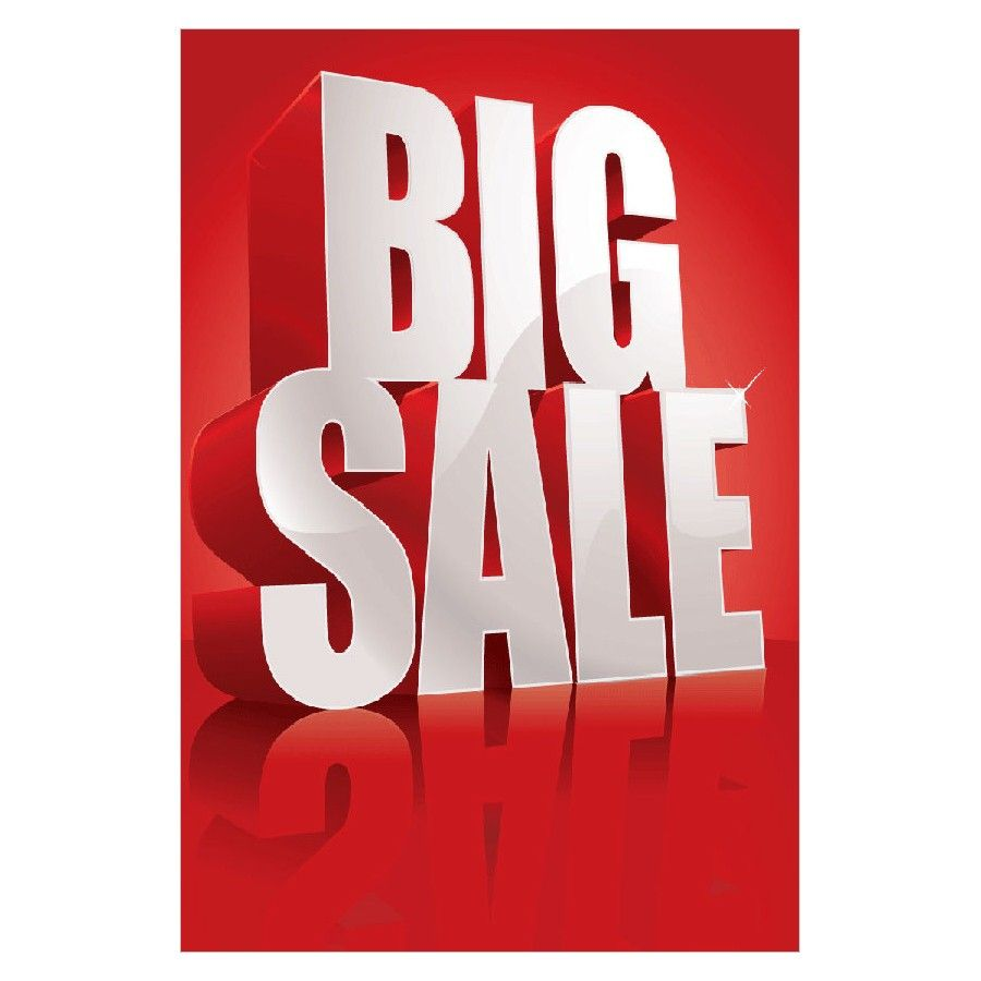 Poster design ks1 - Big Sale Poster Design Discountdisplays Sale Posters
