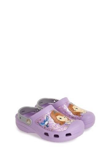 0d9bf100a9d327 Crocs Disney Sofia The First Slip-on Clogs toddler little Girls Size 12-13   Crocs  Clogs
