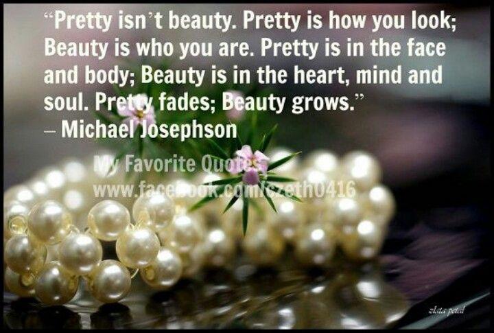 Pretty vs.  Beautiful