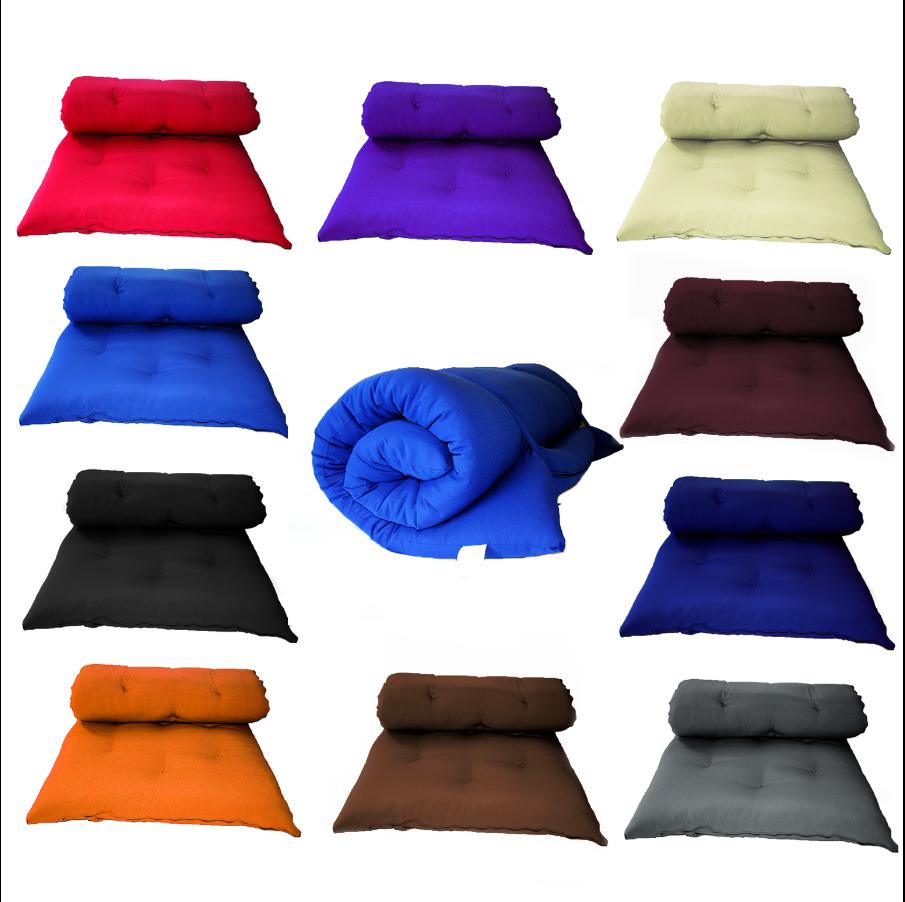 "3"" Tatami Floor Mat Mattress Japanese Bed Rolling Bed Thai"