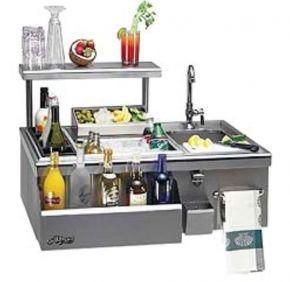 Beverage Center With Sink