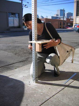 Diy Urban Design From Guerrilla Gardening To Yarn Bombing Urban Design Urban Intervention Guerrilla