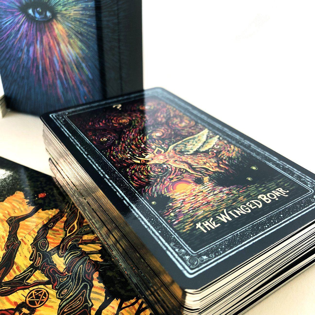 The Prisma Visions Tarot Deck (Fourth Edition) | Tarot