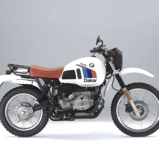 Bmwparison: BMW R80 G/S París Dakar