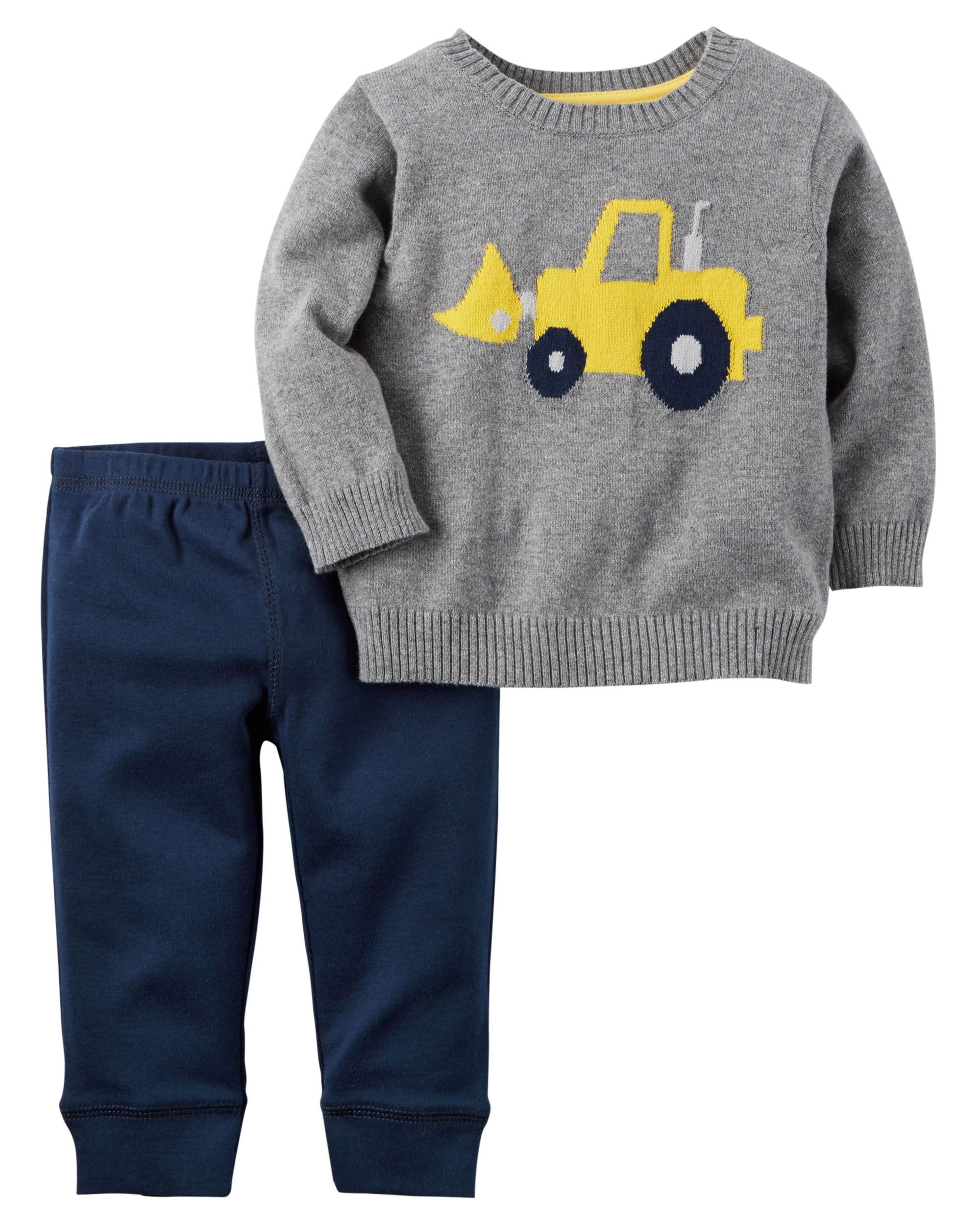 9e144a0eb Baby Boy 2-Piece Little Sweater Set from Carters.com. Shop clothing ...