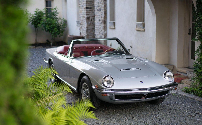 1968 Maserati Mistral 4000 Spyder by Frua
