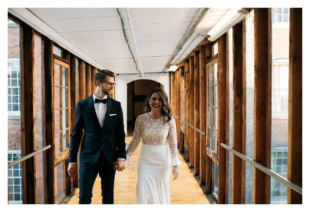 New Years Eve Wedding at The Burroughes Building Toronto