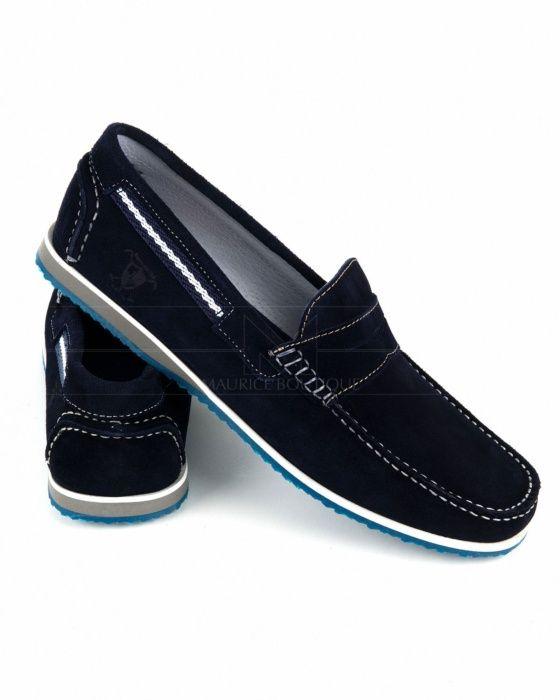 Zapatos De Vestir Hombre Zapatos Nauticos Color Azul Con