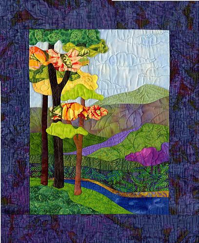 Springs Renewal Applique Quilt Pattern by Bee Creative | Quilting ... : creative quilting ideas - Adamdwight.com