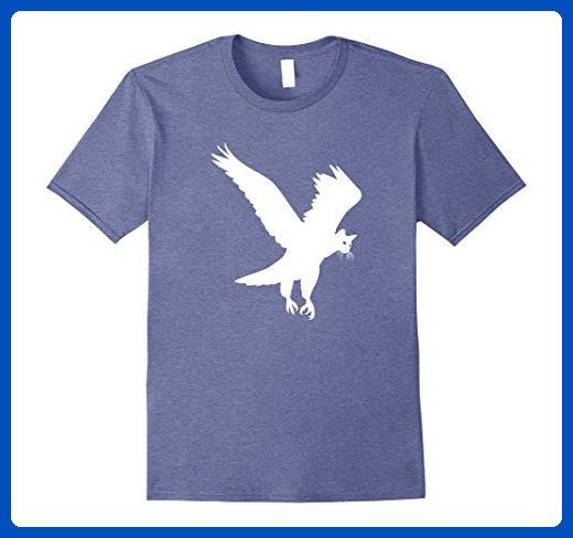 79422ad31ea3 Mens Funny HawkCat Hybrid Animal T Shirt For Hawk And Cat Lovers 3XL  Heather Blue - Animal shirts (*Amazon Partner-Link)