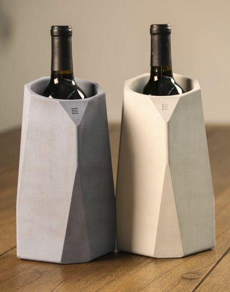 Corvi wine cooler concrete pinterest wine coolers for Concrete wine cooler