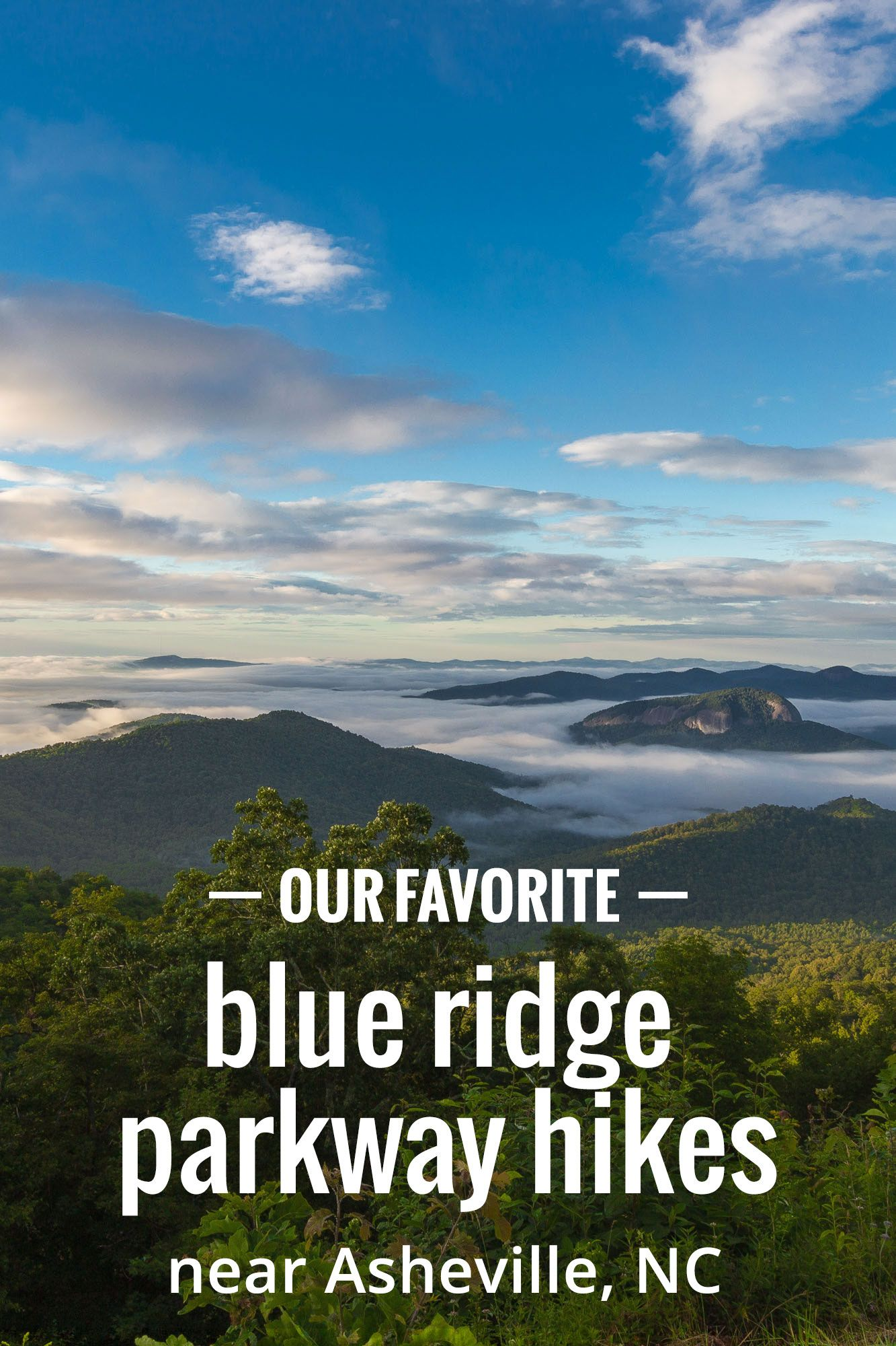 Blue Ridge Parkway: our favorite hikes near Asheville, NC