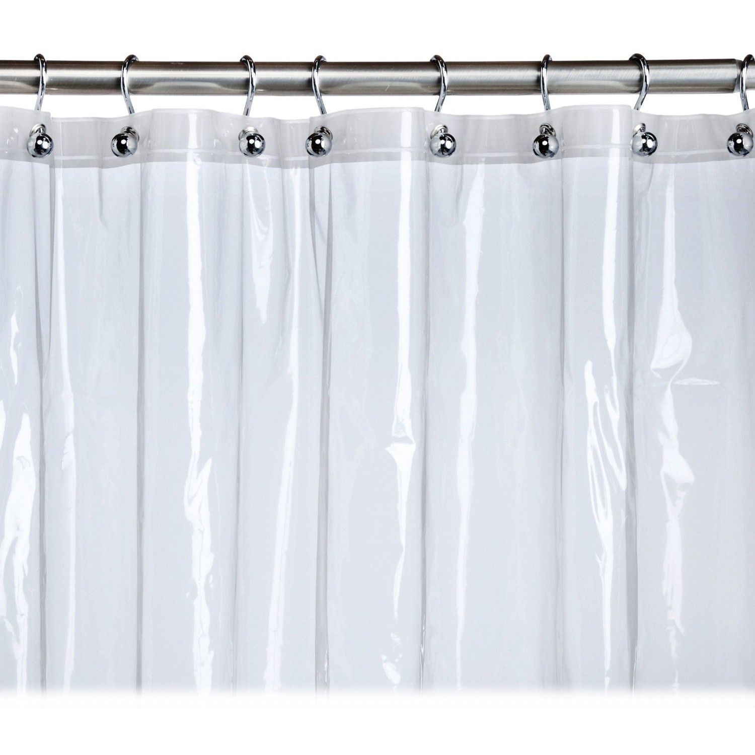 At Home With Meijer Clear Stall Shower Curtain Liner Vinyl Shower Curtains Fabric Shower Curtains Stall Shower Curtain