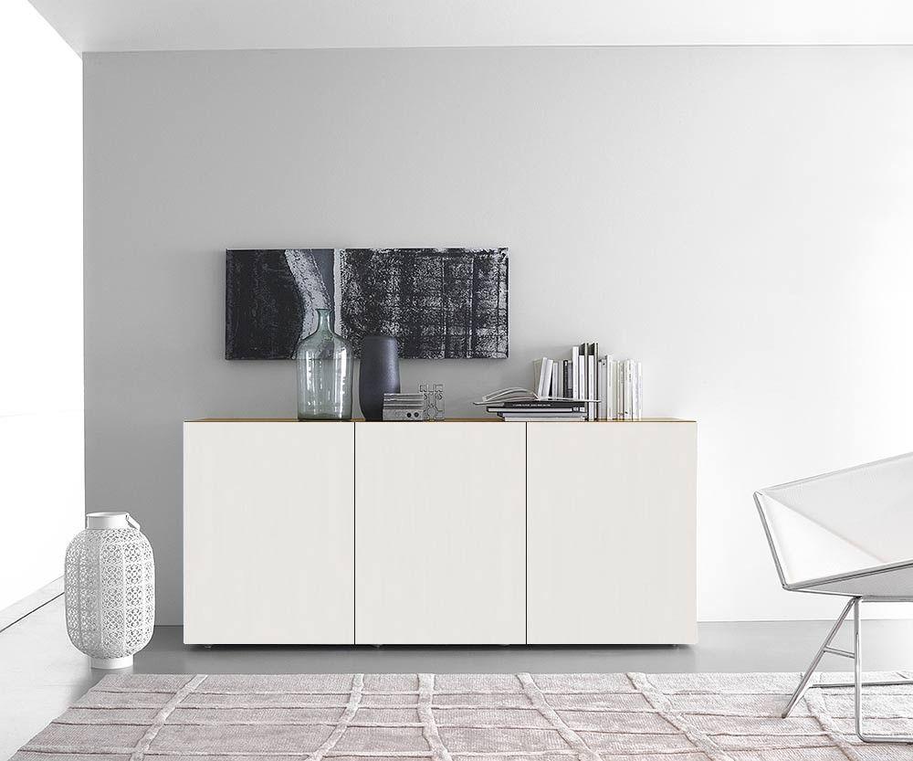 Schleiflack Hochwertige Möbel Sideboard Holz