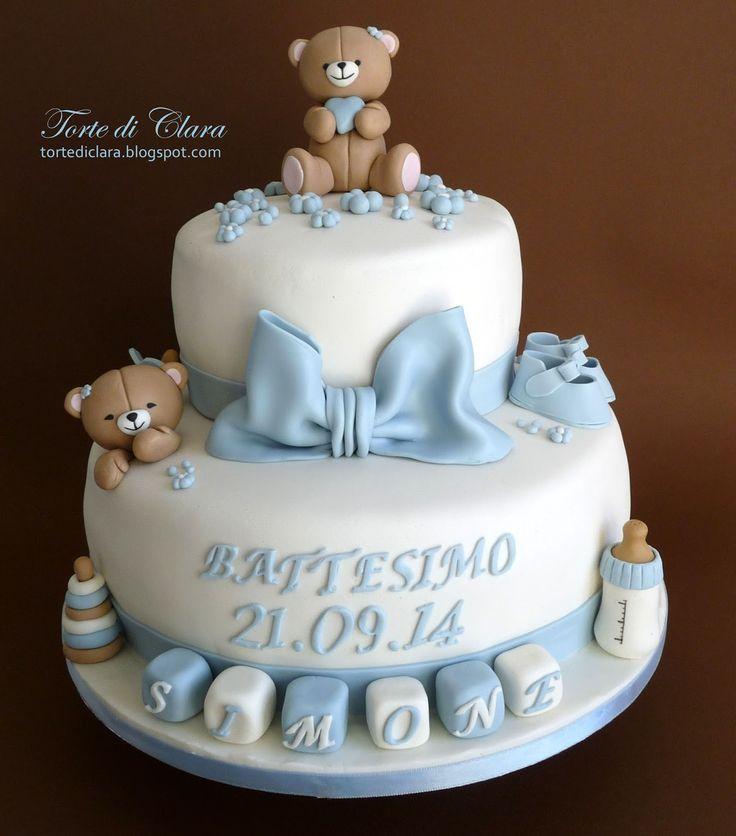 Billedresultat for torte da battesimo bimbo battesimo - Idee per battesimo bimbo ...