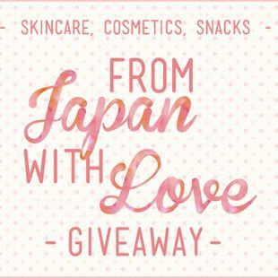 FROM JAPAN, WITH LOVE GIVEAWAY! 3 WINNERS