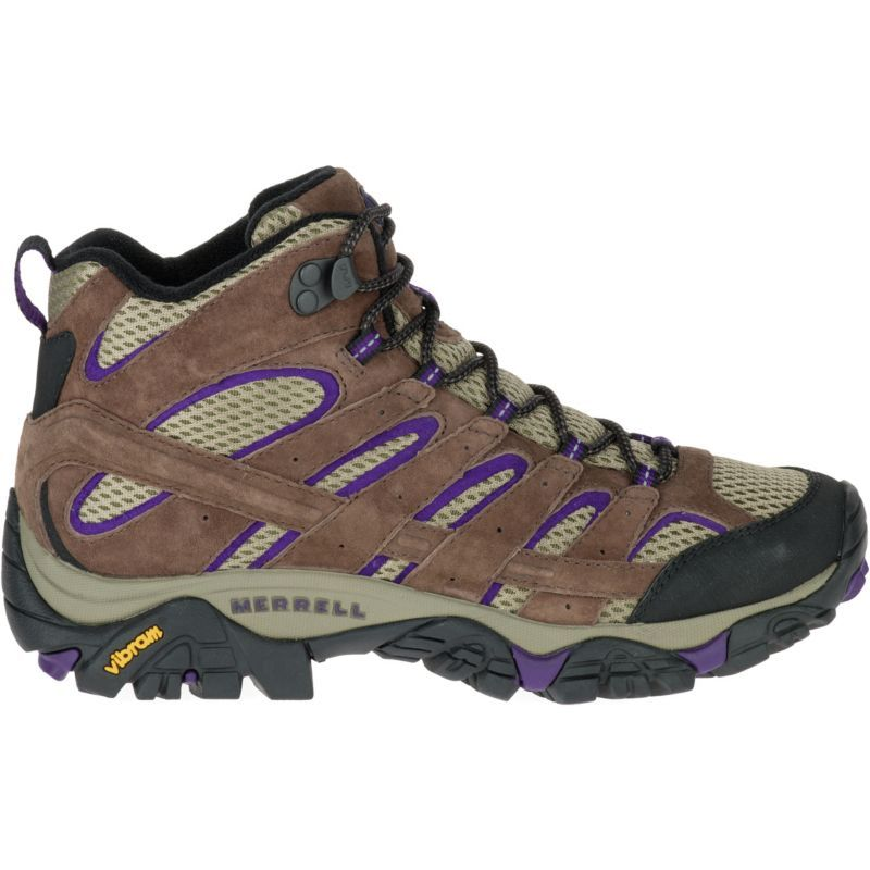 Merrell Women's Moab 2 Ventilator Mid Hiking Boots, Bracken/Purple