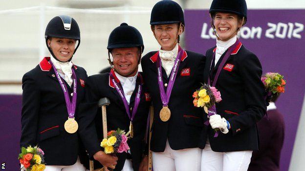 2012 Olympic Equestrian Gold Medal Winners